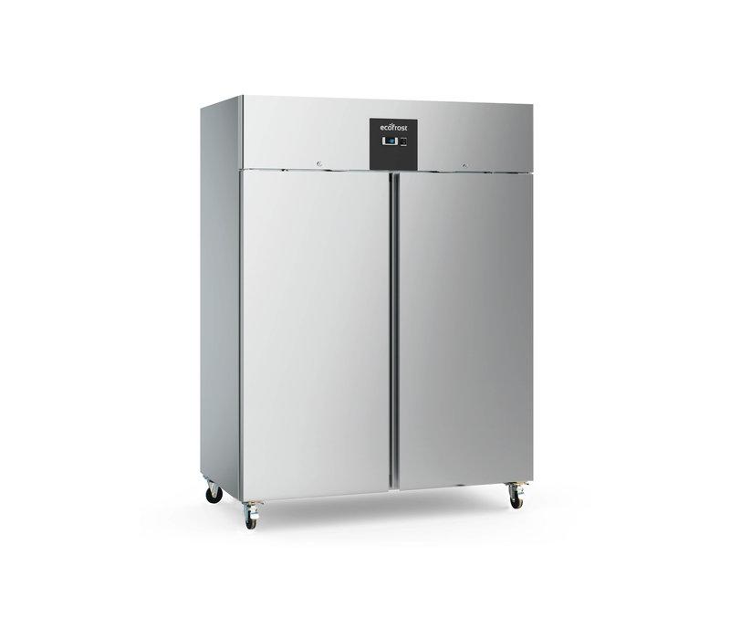 Ecofrost Stainless steel Horeca Refrigerator Double door   Static 1200 liters   1220x680x (H) 1390mm