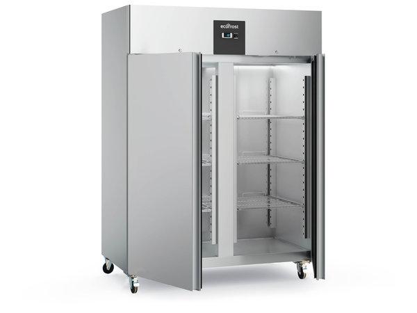 Ecofrost Stainless steel Horeca Freezer Double door   Static 1200 liters   1220x680x (H) 1390mm