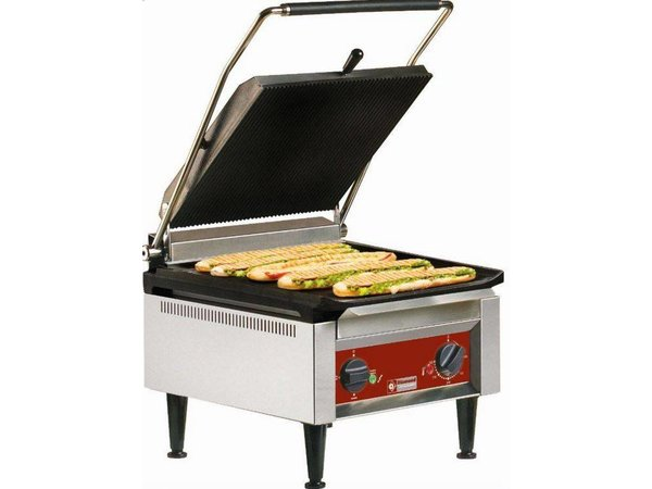 Diamond OUTLET | Contactgrill PRO XXL| Heavy Duty | 410x620x(h)340mm | 3,6 Kw