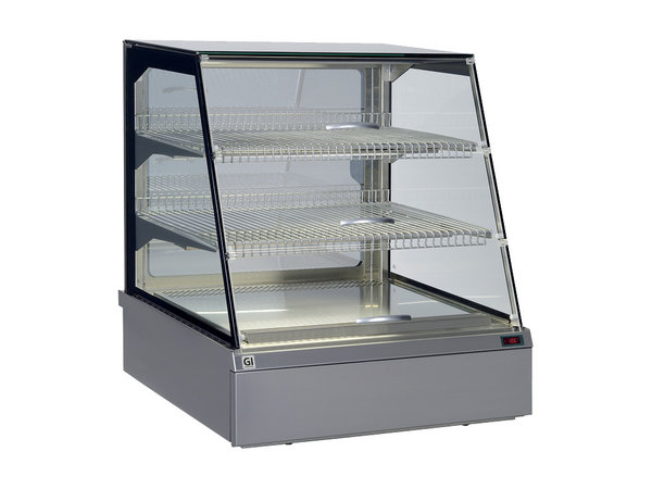 Snacks to Go SnacksToGo Refrigerated display case Stainless steel with safety glass | 746x717x (H) 845mm