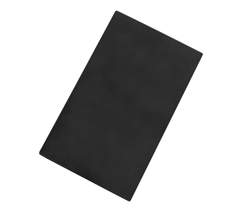 Caterchef Basic Snijplank Zwart | Beide zijde Bruikbaar | 500x300x(H)15mm