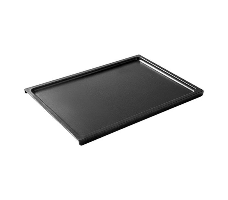 XXLselect Aluminium Grillplaat Glad | Teflon Coating | 380x265mm