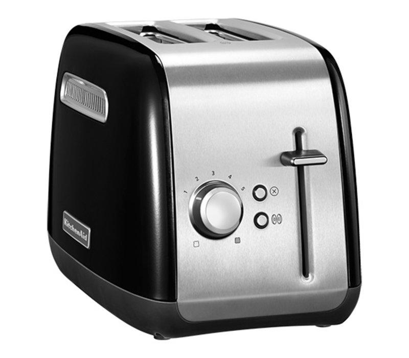 Kitchenaid Broodrooster Zwart 2 Sleuven | Bruiningsregelaar | 1100W | 190x290x(H)210mm