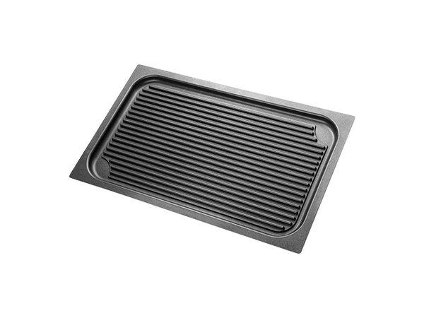 XXLselect Aluminium Grillplaat | Teflon Coating | 1/1 GN 530x325mm