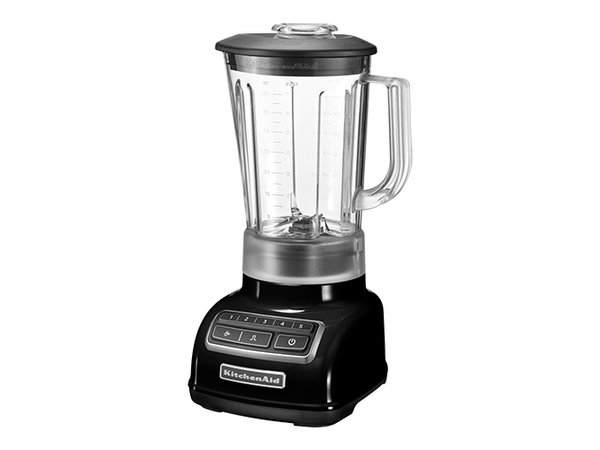Kitchenaid Blender Zwart 1,75 Liter | 5 Snelheden | 550W | 230x190x(H)390mm
