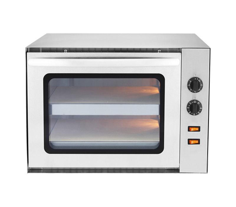 Caterchef Basic Pizza Oven | Geheel RVS | 3000W | 650x610x(H)420mm