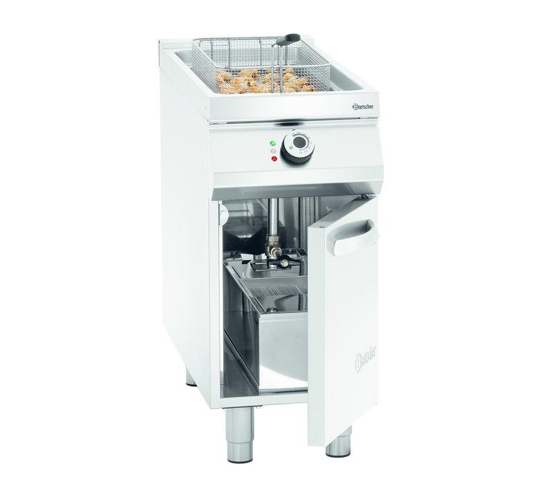 Bartscher Friteuse | Elektrisch | 20 Liter | 400V | 17.4 kW | Met Onderstel | 400x900x(h)900-950mm