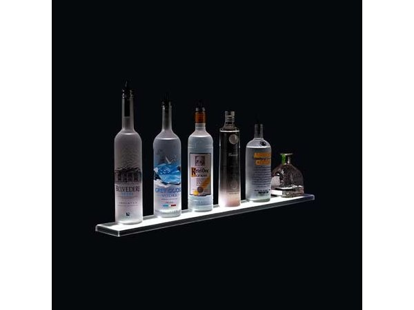 Bar Professional LED Shelf Display | Including Remote Control | 1220 mm