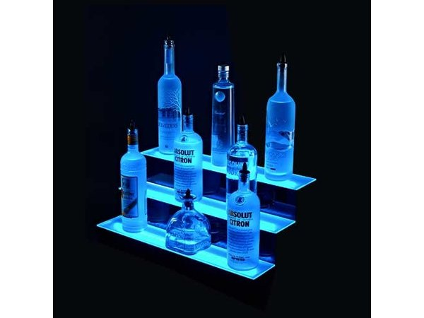 Bar Professional LED Plateau Display | 3 Levels | Including Remote Control | 3x 610mm