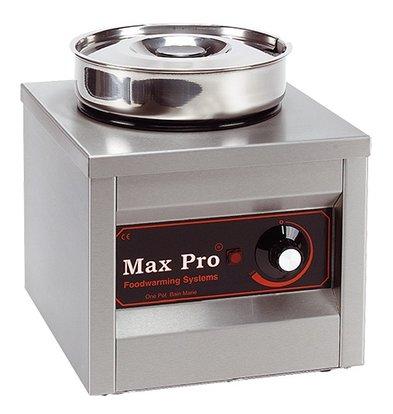 XXLselect Foodwarmer | RVS | 1x4,5 Liter | 29x26x26cm (HxLxB)