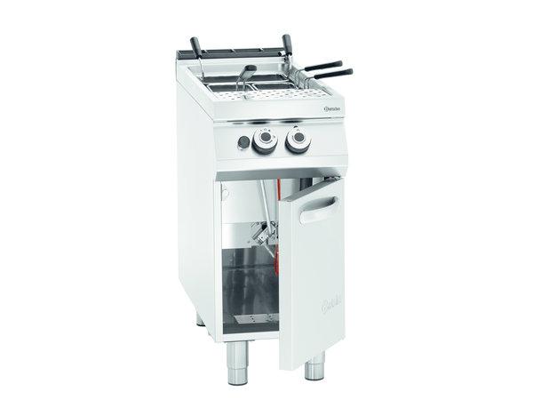 Bartscher Gas Pastakoker Serie 900 | 13,8kW | 40 Liter | 400x900x(H)900-950mm