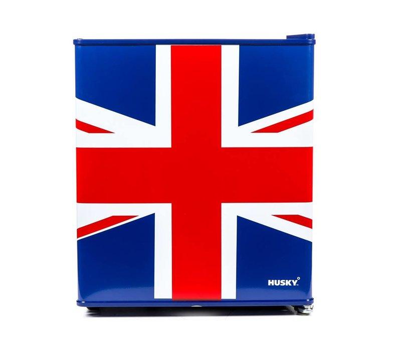 Husky Mini Koelkast Union Flag | KK50-278-NL-HU | 42,9 Liter | 430x460x(H)510mm
