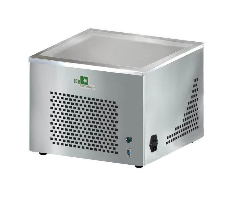 ICB Vriesplaat |Gela-Freeze | Voor het maken Van Ijsrollen | 550x550x(H)450mm