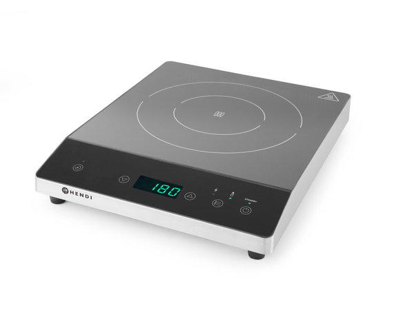 Hendi Induction cooker 2000W   For Ø120-Ø260mm   294x374x (H) 56mm