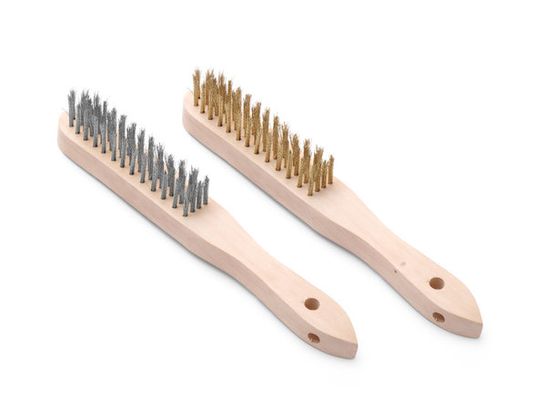 Hendi Brass & stainless steel wire Brush set   290 mm