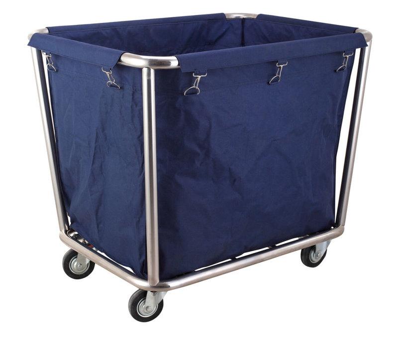 Hendi Laundry Trolley | Detachable and Washable Laundry Bag 900x650x (H) 850mm