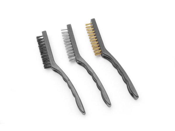Hendi Wire Brush Set Smal | 3 Parts | 178 mm