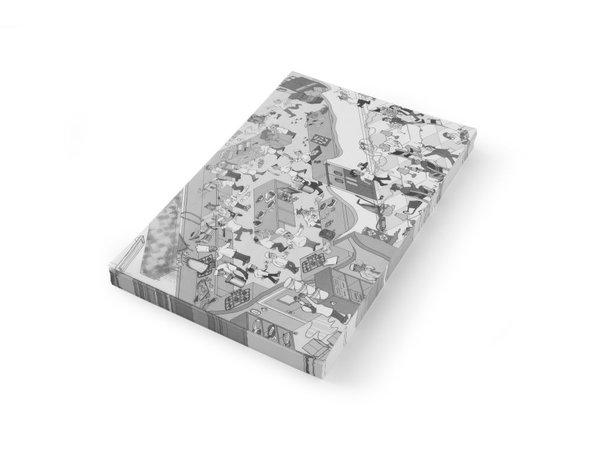 Hendi Vetbestendig Papier Placemat   Keuken Chaos   Per 500 Vellen   420x275mm