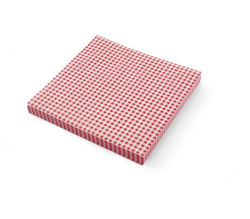 Hendi Vetbestendig Papier | Ruitjespatroon | Per 500 Vellen | 306x305mm