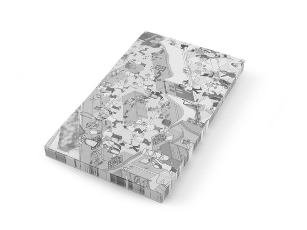 Hendi Vetbestendig Papier |Keuken Chaos | Per 500 Vellen | 258x425mm