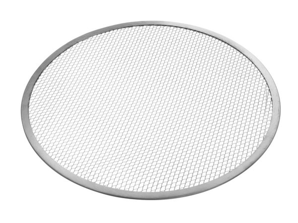 Hendi Pizza Plate With Mesh Bottom | Aluminum Ø380mm