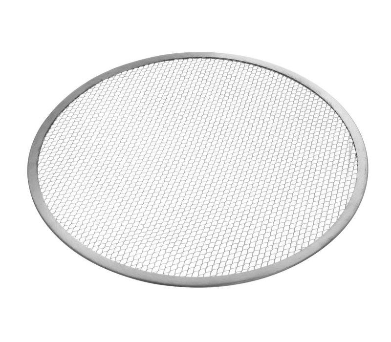 Hendi Pizzaplaat Met Gaasbodem | Aluminium | Ø480mm