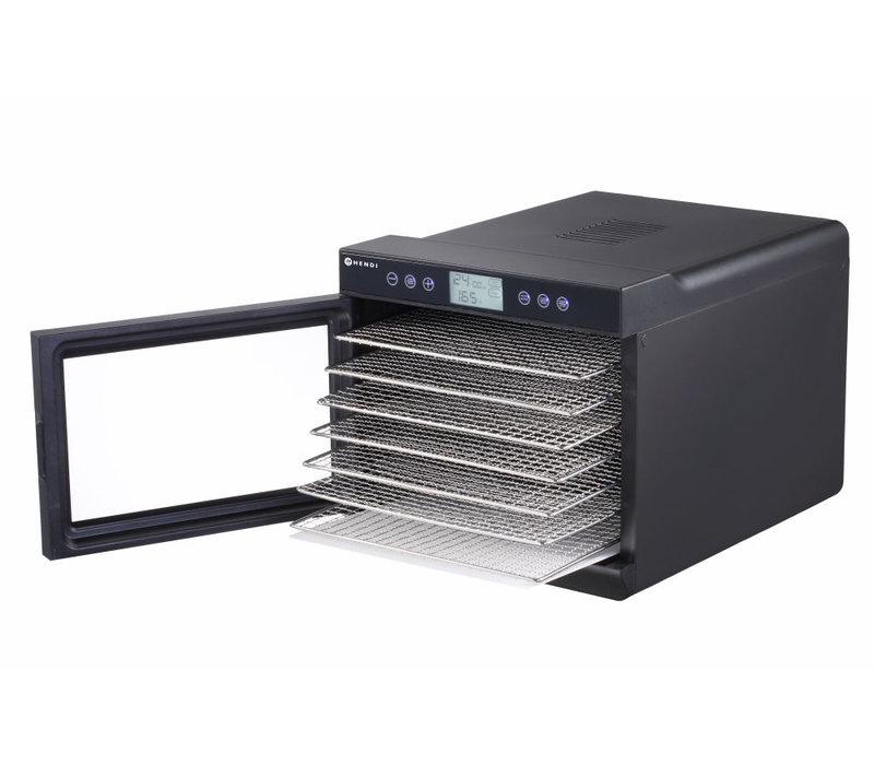 Hendi Food Dryer Kitchen Line | Black Model 7 x 375x300 mm | 345x450x (H) 315mm