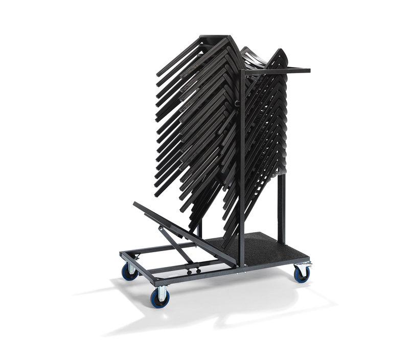 Veba Uni Stack trolley | Geschikt voor Alle Stapelstoelen | 1150x600x(H)1500mm