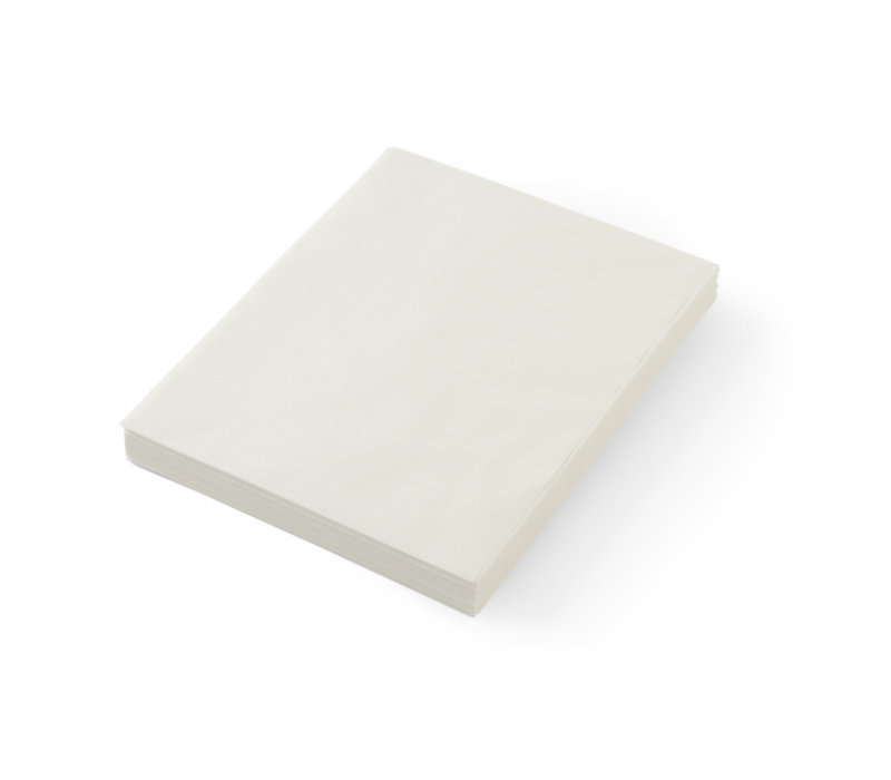 Hendi Vetbestendig Papier | Neutraal | Per 500 Vellen | 250x200mm