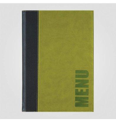XXLselect Menukaart Trendline Groen A4