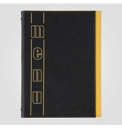 XXLselect Menukaart Trendline Color - Geel A4