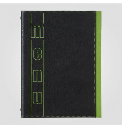 XXLselect Menukaart Trendline Color - Groen A4