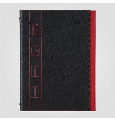 XXLselect Menukaart Trendline Color - Rood A5