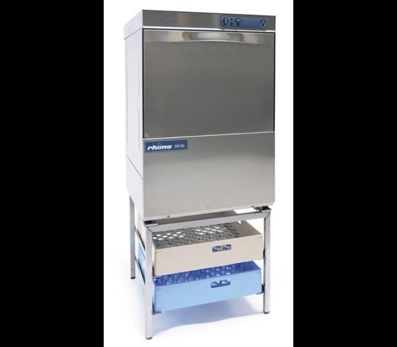 Rhima Dishwasher 50x50cm | Rhima DR50 Special | Choice of 230 / 400V | 590x600x850mm | MADE IN EUROPE