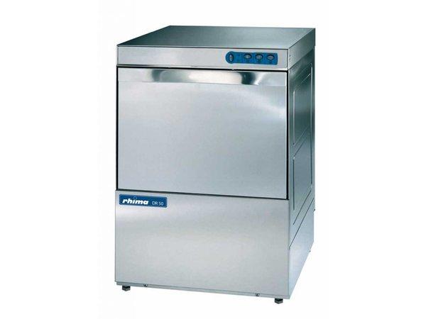 Rhima Vaatwasmachine 50x50cm   Rhima DR50 Special   Keuze 230/400V   590x600x850mm   MADE IN EUROPE