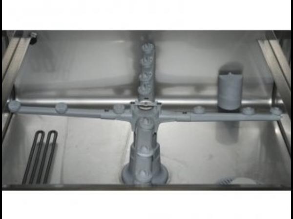 Rhima Vaatwasmachine 50x50cm   Rhima DR50S Special   Keuze 230/400V   Incl. Waterontharder   590x600x850mm   MADE IN EUROPE