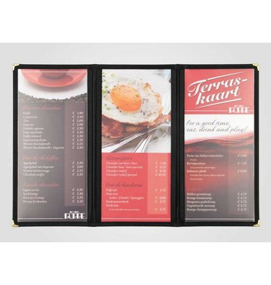 XXLselect Menu Universal 3-hatch - 135x297mm