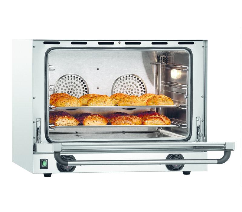 Bartscher Convection oven AT211-MDI | 4 x 1/1 GN | 3 kW | 700x625x (H) 540mm