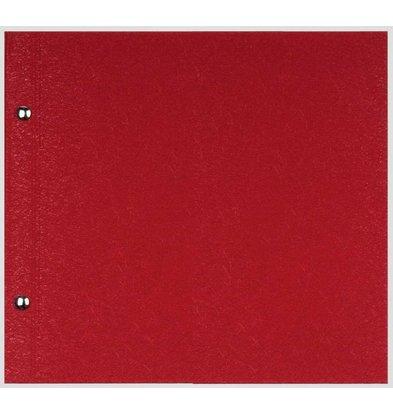 XXLselect Menu Library Fibre - Red - Square Model
