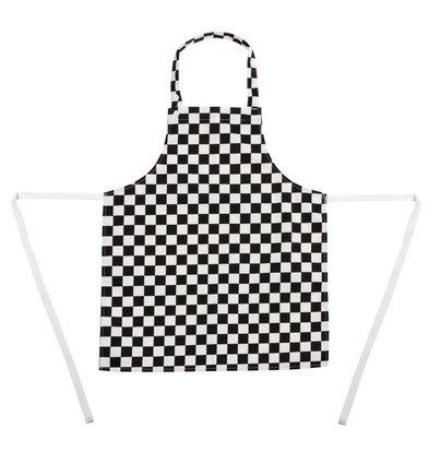 Whites Chefs Clothing Kinderschort - Zwart / wit geruit - Unisex