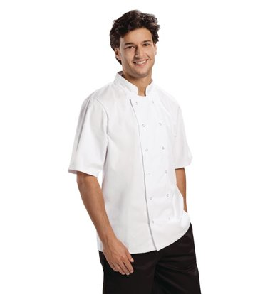 Whites Chefs Clothing Chefs Tube Boston - Short Sleeves - Available in 6 sizes - Unisex - White