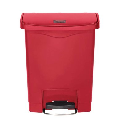 Rubbermaid Rubbermaid trash bin smart step on with front pedal 30L - Different colors - 425x271x (H) 536mm