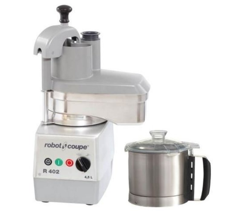 Robot Coupe Combi Cutter & Vegetable Cutter Robot Coupe R402   4.5 liters   2 speeds: 500 & 1,500 RPM - Copy