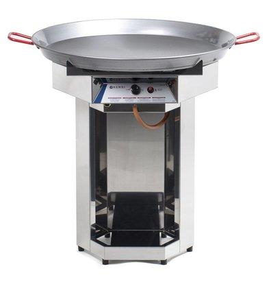 Hendi Hendi Fiesta Barbecue Gas | Gasgrill XXL BBQ | 800mm Diameter Pan | Propaangas | PROFESSIONEEL