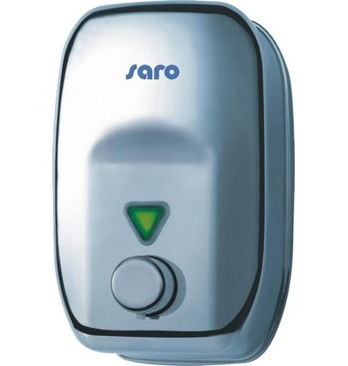 Saro RVS Zeepdispenser 1800ml - Drukknop - 140x120x210mm