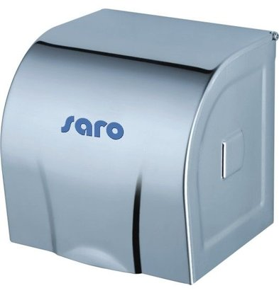 Saro Toilet paper dispenser | Stainless steel | 12x12x12cm