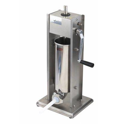 Saro Worstenvul Machine Stainless Steel - 5 Liter