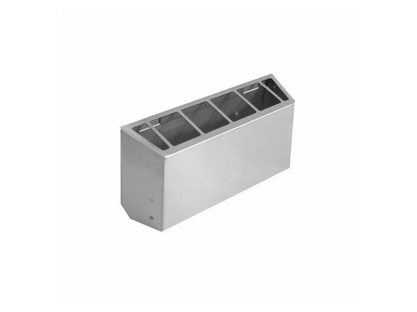 XXLselect 700 HP RVS Schoorsteen Voor 40cm Apparaten