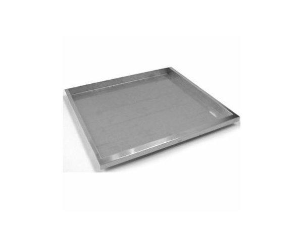 XXLselect 700 HP Verchroomde Ovenschaal GN2/1 | 530x650x(H)10mm