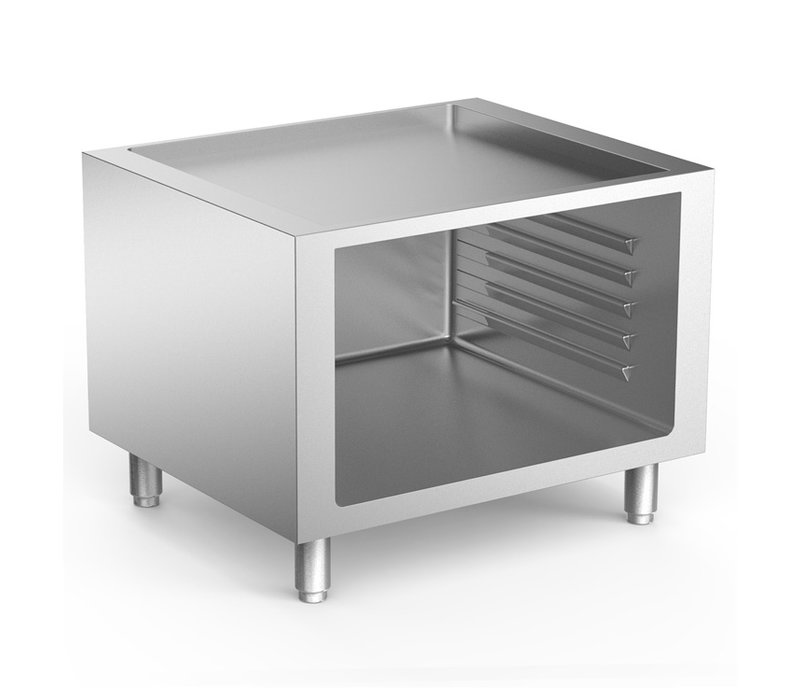 XXLselect 700 HP Open Onderkast Met Geleiders | Voor Inductie Apparatuur | 800x665x(H)620mm